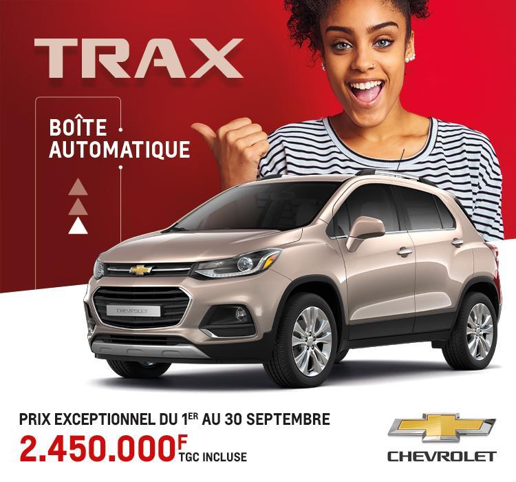 TRAX : Prix exceptionnel du 1er au 30 Septembre